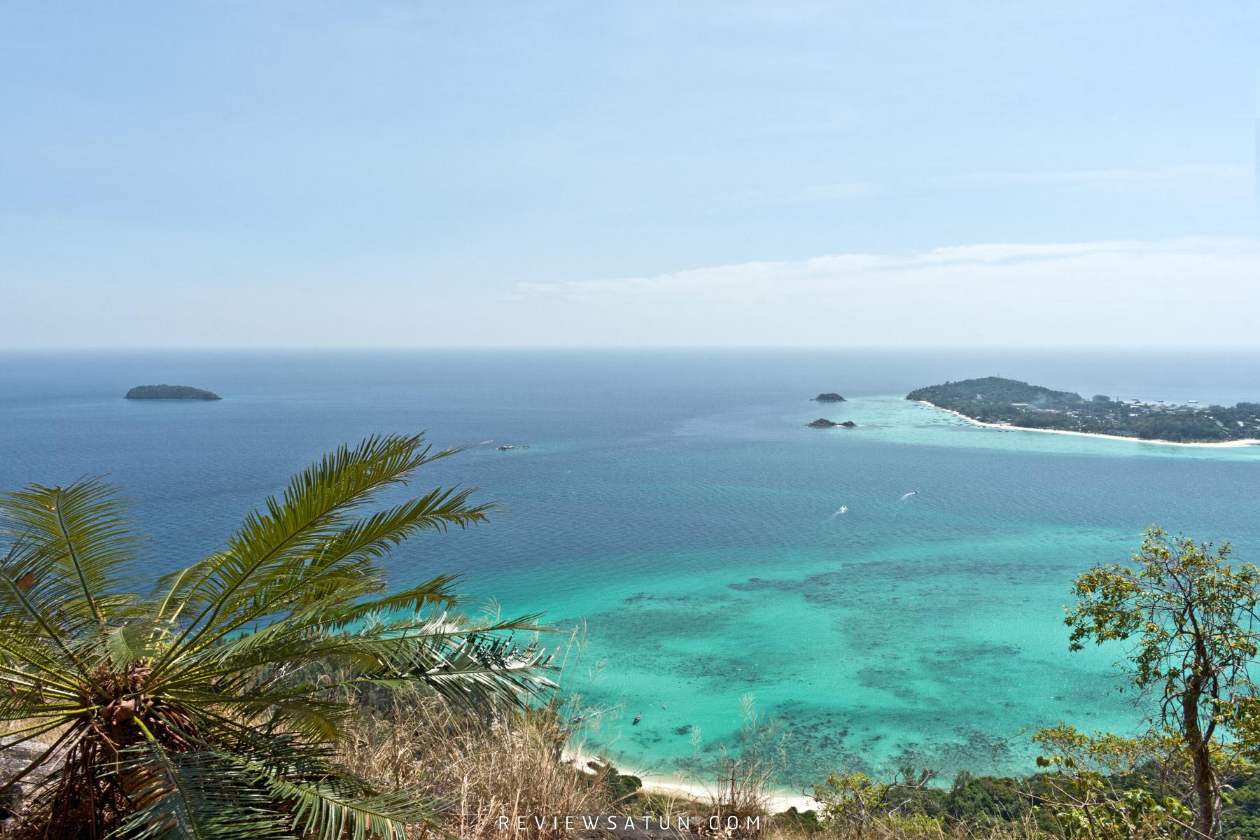 วิวสวยๆ-น้ำทะเลใสๆ เกาะตะรุเตา,สตูล,หลีเป๊ะ,จุดเช็คอิน