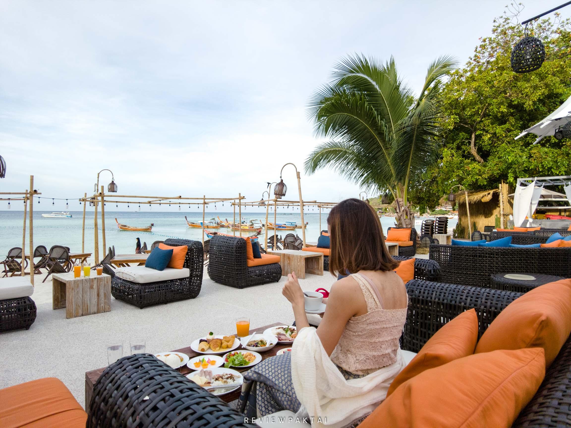 ทานอาหารเช้ากันฟินๆ akira,lipe,สตูล,เกาะหลีเป๊ะ,ที่พักหลีเป๊ะ,ที่พักสตูล