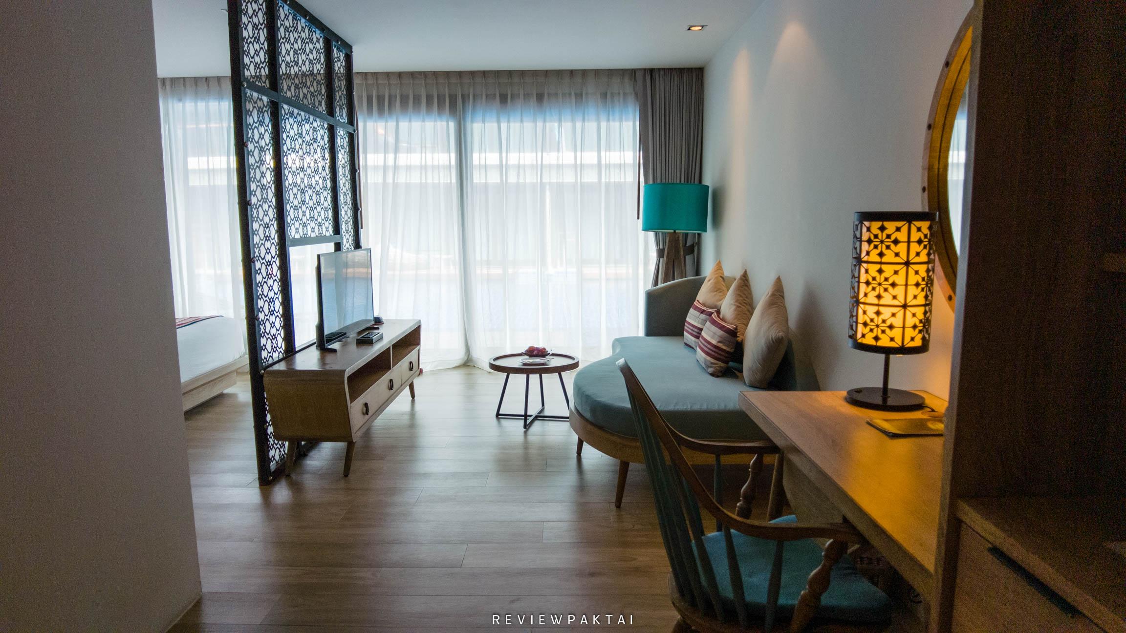 ภายในห้องพักสวยงามมีการตกแต่งได้ดี akira,lipe,สตูล,เกาะหลีเป๊ะ,ที่พักหลีเป๊ะ,ที่พักสตูล