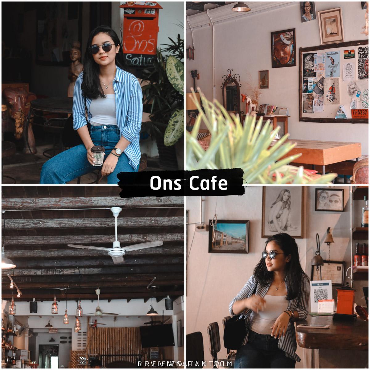 Ons Cafe คาเฟ่ลับๆ ย่านเมืองเก่าสตูล บอกเลยว่าเด็ด จุดเช็คอิน,หลีเป๊ะ,สตูลสดยกกำลังสาม,satunwonderland,เที่ยวเมืองไทยAmazingกว่าเดิม,ชีพจรลงSouth