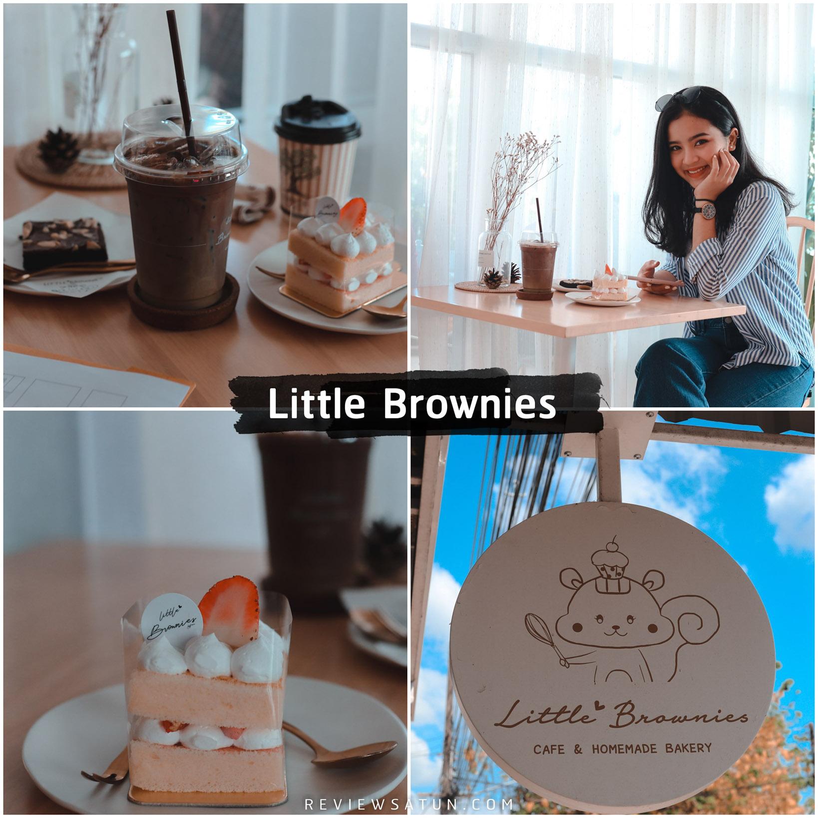 ปักหมุดเช็คอิน little brownie ถ่ายรูปสวยๆสำหรับหนุ่มๆสาวๆเหมาะสำหรับสายคอกาแฟอีกด้วย ขนมโฮมเมด และน้ำหวานต่างๆก็มีให้เลือกราคาไม่แพง